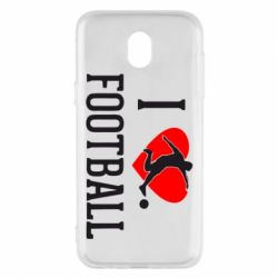 Чохол для Samsung J5 2017 I love football