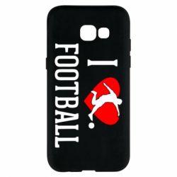 Чохол для Samsung A5 2017 I love football
