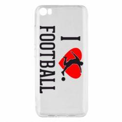 Чохол для Xiaomi Mi5/Mi5 Pro I love football