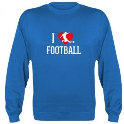 Реглан (свитшот) I love football - FatLine