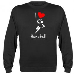 Реглан (свитшот) I love handball 2 - FatLine