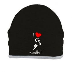 Шапка I love handball 2 - FatLine