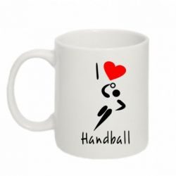 Кружка 320ml I love handball 2 - FatLine