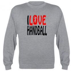 Реглан (свитшот) I love handball 3 - FatLine