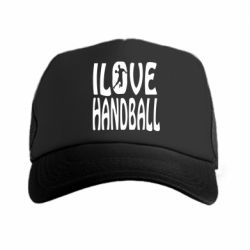 Кепка-тракер I love handball 3 - FatLine