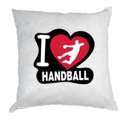 Подушка I love handball - FatLine