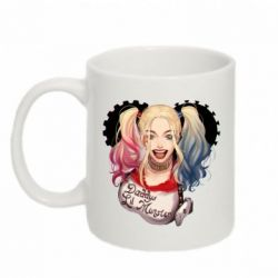 Кружка 320ml I love Harley Quinn