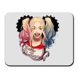 Коврик для мыши I love Harley Quinn - FatLine