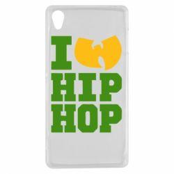 Чехол для Sony Xperia Z3 I love Hip-hop Wu-Tang - FatLine