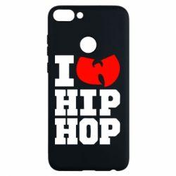 Чехол для Huawei P Smart I love Hip-hop Wu-Tang - FatLine