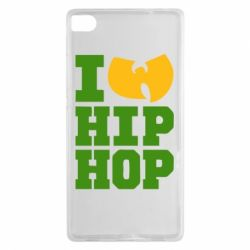 Чехол для Huawei P8 I love Hip-hop Wu-Tang - FatLine