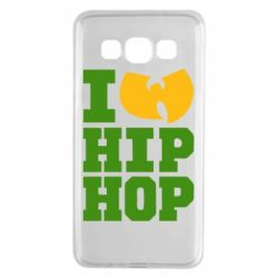 Чехол для Samsung A3 2015 I love Hip-hop Wu-Tang - FatLine