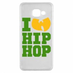 Чехол для Samsung A3 2016 I love Hip-hop Wu-Tang - FatLine