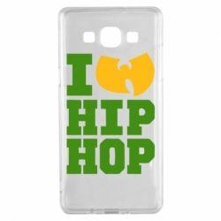Чехол для Samsung A5 2015 I love Hip-hop Wu-Tang - FatLine