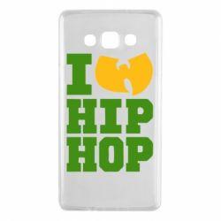 Чехол для Samsung A7 2015 I love Hip-hop Wu-Tang - FatLine