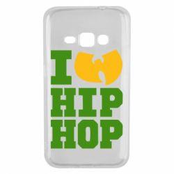 Чехол для Samsung J1 2016 I love Hip-hop Wu-Tang - FatLine