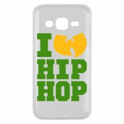 Чехол для Samsung J2 2015 I love Hip-hop Wu-Tang - FatLine