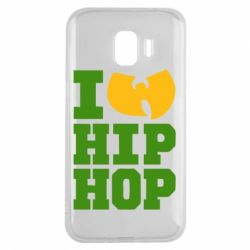 Чехол для Samsung J2 2018 I love Hip-hop Wu-Tang - FatLine