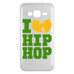 Чехол для Samsung J3 2016 I love Hip-hop Wu-Tang - FatLine