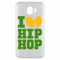 Чехол для Samsung J4 I love Hip-hop Wu-Tang - FatLine
