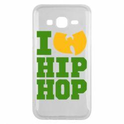 Чехол для Samsung J5 2015 I love Hip-hop Wu-Tang - FatLine