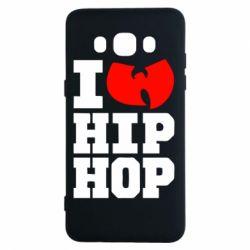 Чехол для Samsung J5 2016 I love Hip-hop Wu-Tang - FatLine