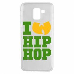 Чехол для Samsung J6 I love Hip-hop Wu-Tang - FatLine