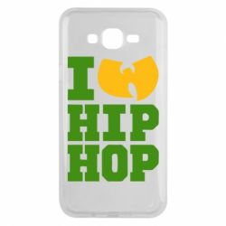 Чехол для Samsung J7 2015 I love Hip-hop Wu-Tang - FatLine