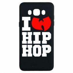 Чехол для Samsung J7 2016 I love Hip-hop Wu-Tang