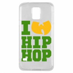 Чехол для Samsung S5 I love Hip-hop Wu-Tang - FatLine