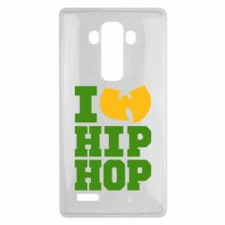 Чехол для LG G4 I love Hip-hop Wu-Tang - FatLine