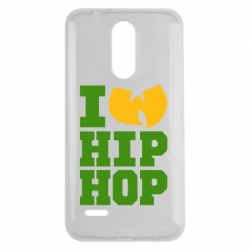 Чехол для LG K7 2017 I love Hip-hop Wu-Tang - FatLine