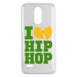 Чехол для LG K8 2017 I love Hip-hop Wu-Tang - FatLine