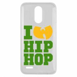 Чехол для LG K10 2017 I love Hip-hop Wu-Tang - FatLine