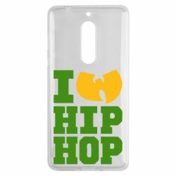 Чехол для Nokia 5 I love Hip-hop Wu-Tang - FatLine