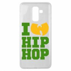 Чехол для Samsung J8 2018 I love Hip-hop Wu-Tang - FatLine