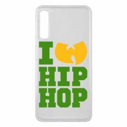 Чехол для Samsung A7 2018 I love Hip-hop Wu-Tang - FatLine