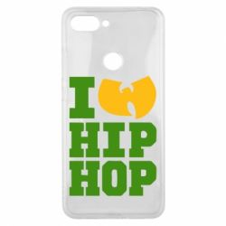 Чехол для Xiaomi Mi8 Lite I love Hip-hop Wu-Tang - FatLine