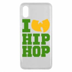 Чехол для Xiaomi Mi8 Pro I love Hip-hop Wu-Tang - FatLine