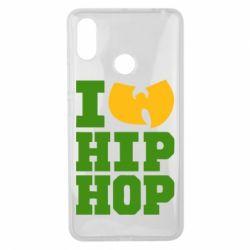 Чехол для Xiaomi Mi Max 3 I love Hip-hop Wu-Tang - FatLine