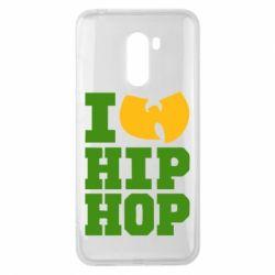 Чехол для Xiaomi Pocophone F1 I love Hip-hop Wu-Tang - FatLine