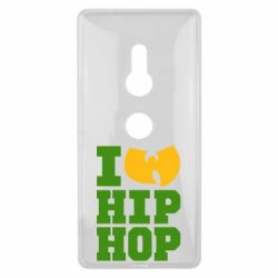 Чехол для Sony Xperia XZ2 I love Hip-hop Wu-Tang - FatLine