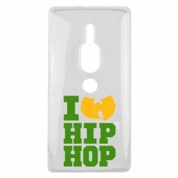 Чехол для Sony Xperia XZ2 Premium I love Hip-hop Wu-Tang - FatLine