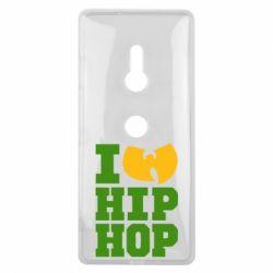 Чехол для Sony Xperia XZ3 I love Hip-hop Wu-Tang - FatLine