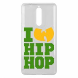 Чехол для Nokia 8 I love Hip-hop Wu-Tang - FatLine