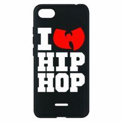 Чехол для Xiaomi Redmi 6A I love Hip-hop Wu-Tang - FatLine