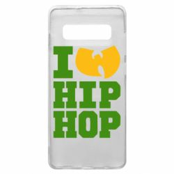 Чехол для Samsung S10+ I love Hip-hop Wu-Tang