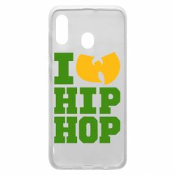 Чехол для Samsung A20 I love Hip-hop Wu-Tang