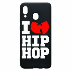 Чехол для Samsung A30 I love Hip-hop Wu-Tang