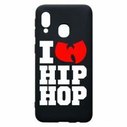 Чехол для Samsung A40 I love Hip-hop Wu-Tang